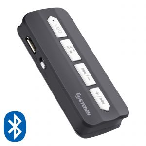 Receptor de audio Bluetooth y manos libres con reproductor MP3